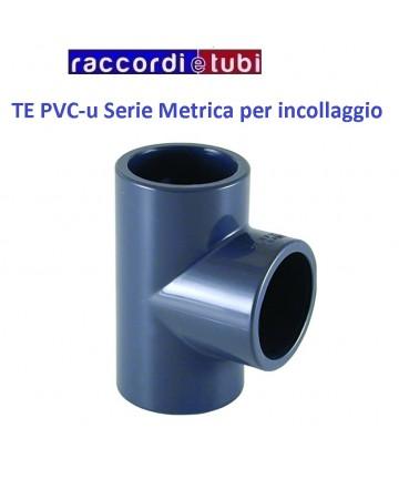TE PVC INCOLLAGGIO DIAMETRO...