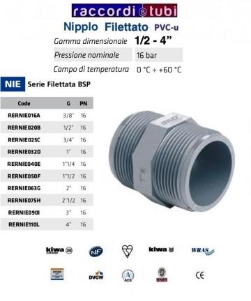 NIPLES PVC DIAMETRO 1/2