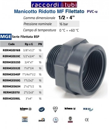 MANICOTTO PVC MF...