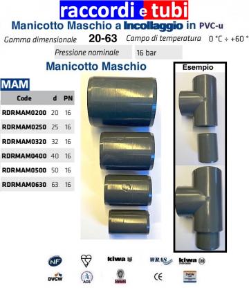 MANICOTTO Maschio Maschio...