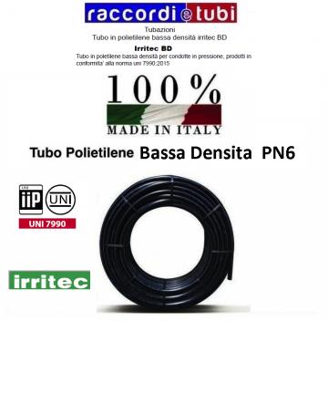 TUBO POLIET.BD PN/6  32 MT.100