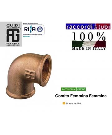 GOMITO OTTONE FF DIAMETRO...
