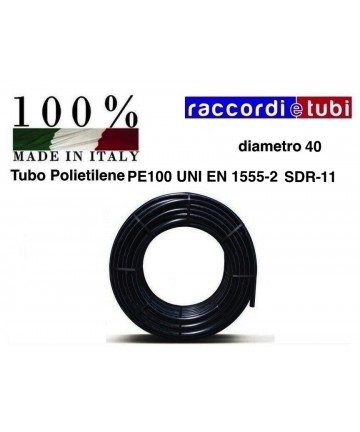 TUBO POLIET.HD PN/16 40...
