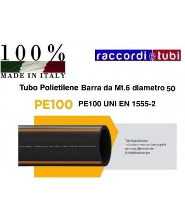 TUBO IN BARRA GAS S5 PE100...