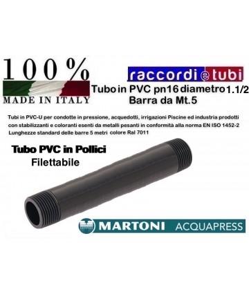 TUBO PVC D.1.1/2 PN/16...