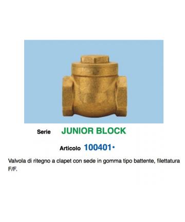 VALVOLA CLAPET D.3/8 SEDE...