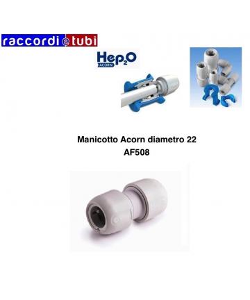 MANICOTTO ACORN DIAMETRO 22