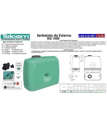 TELCOM SERBATOIO SQ 1500