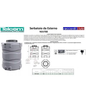 TELCOM SERBATOIO NPA500