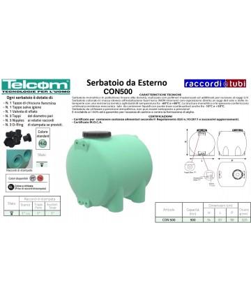 TELCOM SERBATOIO CON 500