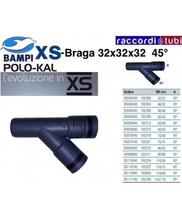 BRAGA XS 102200 DN 32-32-45'