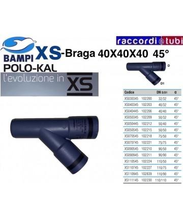 BRAGA XS 102206 DN 40-40-45'