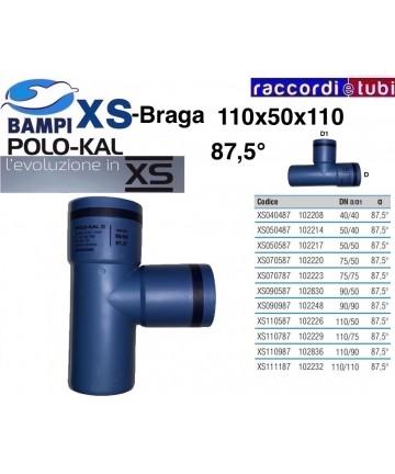 BRAGA XS 102226 DN 110-50-87'