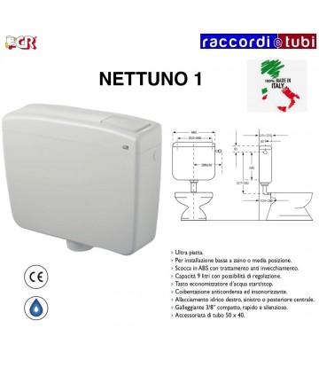 CASSETTA NETTUNO 1 PULSANTE...