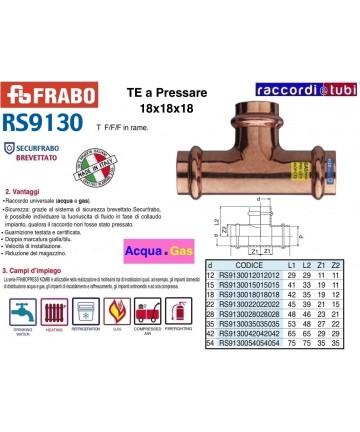 TE RAME A PRESSARE 18X18X18