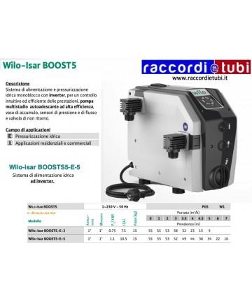 WILO-ISAR BOOST5-E-5...