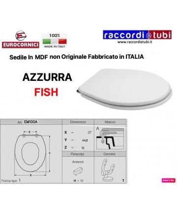 SEDILE PER WC AZZURRA FISH...